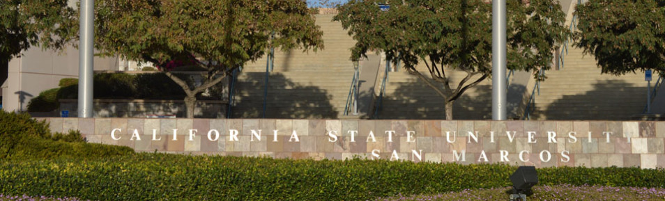 Photo Cal State University Sign
