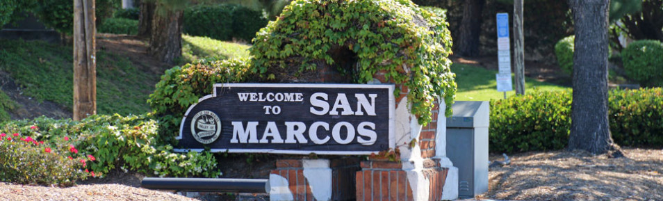 Photo Welcome to San Marcos Sign